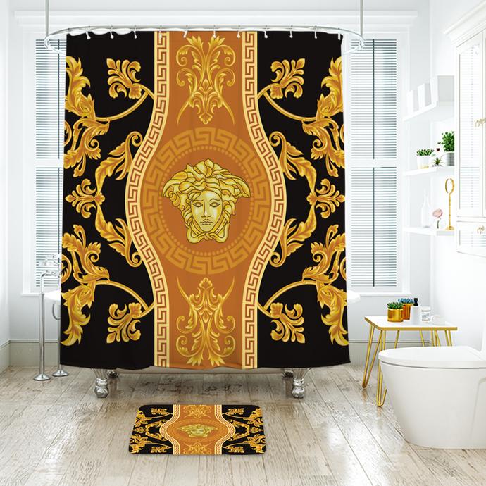 Versace 14 Fashion Logo Waterproof Fabric By Nathalyshop