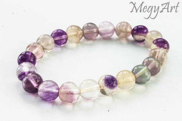 FLUORITE Bracelet Gemstne Bracelet, Womens Bracelet,Natural Gemstone