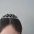 [Chelsea1] crystal headpiece bridal head piece crystal wedding headpiece bridal