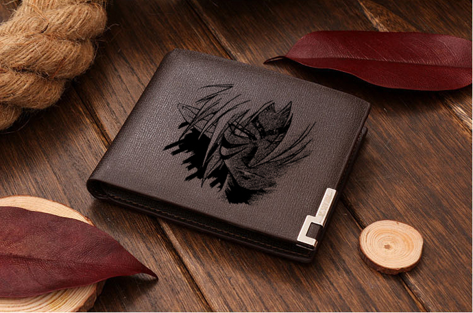 Zelda Fierce Deity Leather Wallet