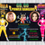 Twin split invitation barbie power ranger, Sibling birthday party invitations,
