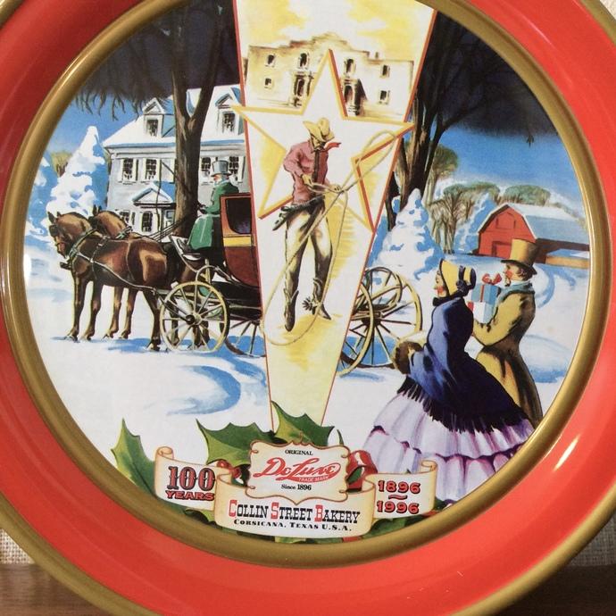 Vintage Collins Bakery Tin