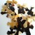 6 pcs special Cross-shaped pendant, natural buffalo horn, 80x65mm, highly