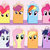 My Little Pony DIY Favor Bag Template, My Little Pony Party Bags Printable, My