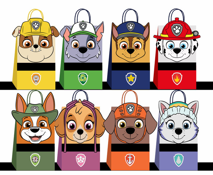 picture about Printable Paw Patrol identified as Paw patrol Choose Baggage, paw patrol Social gathering Baggage Printable, paw patrol Do it yourself Present Bag, paw patrol Birthday Printable, Electronic Data files