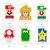 Super Mario DIY Favor Bag Template, Super Mario Party Bags Printable,Super Mario