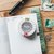 Pavilio standard lace tape - Umi Silver - 1.5 cm wide washi tape 10m - perfect