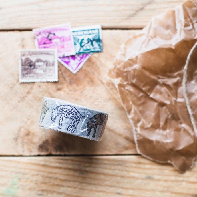 mt x Minä Perhonen washi tape - count·pale mix - 2 cm wide washi tape 10m -
