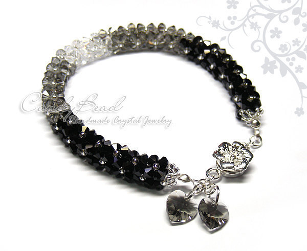 SALE; Size 9 1/2 inches; Swarovski Bracelet; Crystal Bracelet; Luxurious