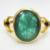 5.72 carat 6.25 ratti Natural Emerald Certified Gemstone Panna Birthstone Gold