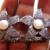 4.85ct Diamond Pearl 92.5 Silver Crown Tiara Diamond Crown Silver Tiara,