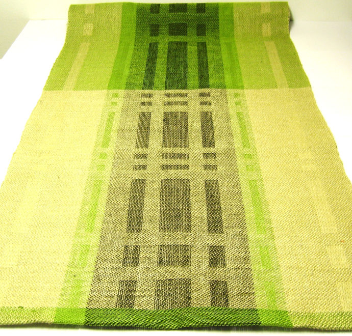 Hand woven Linen- Table Runner