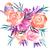 Spring Blossom Print, Bird and Flower Painting, Spring Decor, Bird Print, Flower