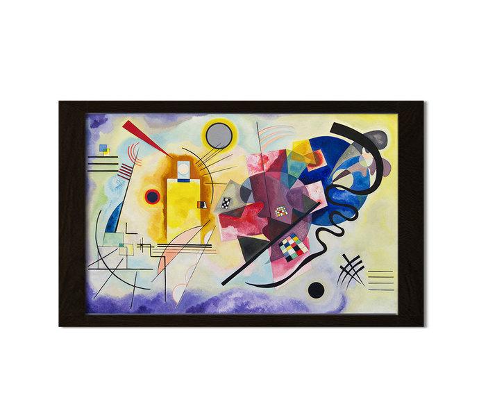 Wassily Kandinsky Reproduction Jaune-rouge-bleu 1925 - Fine Art Abstract Modern