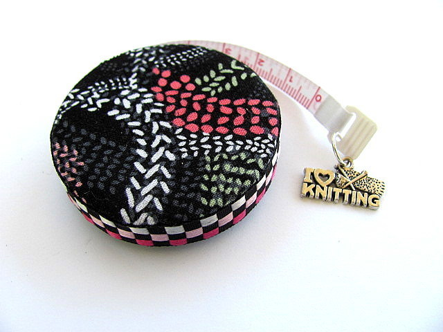 Measuring Tape Knit Stitches Retractable Tape Measure