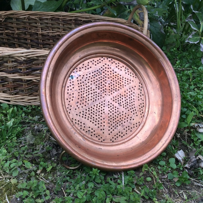 Very Cool Copper Colander