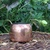 Copper Sugar Bowl with Double Brass Handles