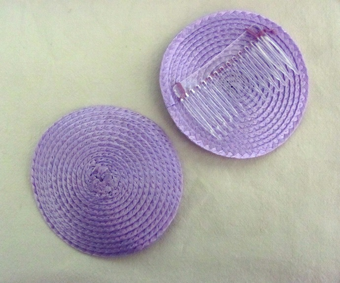 50 Millinery Fascinator Base with Comb for Hat Making and Crafts. Choose your