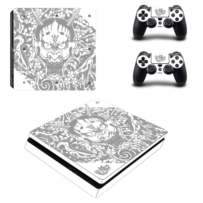 Chinese Dragon ps4 slim skin decal for console and controllers