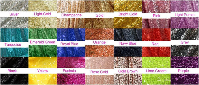 V Neck Gold Sequin Prom Dress with Brush Train