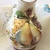 Hand Painted Italian Pottery Water Ewer