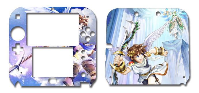 Kid Icarus Uprising Nintendo 2DS Vinyl Skin Decal Sticker