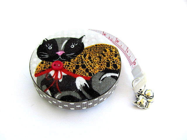 Tape Measure Sweater Cat Retractable Pocket Measuring Tape