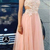 Blush Pink African Prom Dresses Long Formal Evening Gowns For Women Dresses
