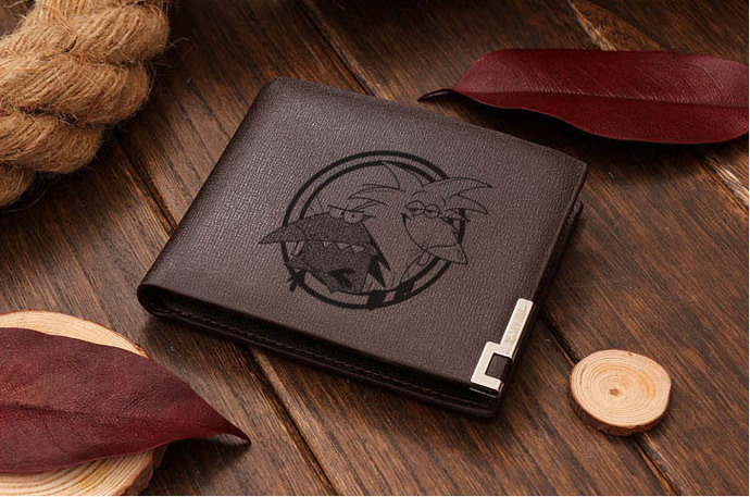 Angry Beavers Leather Wallet