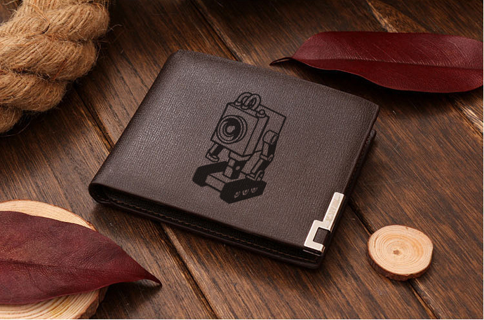 Butterbot Leather Wallet