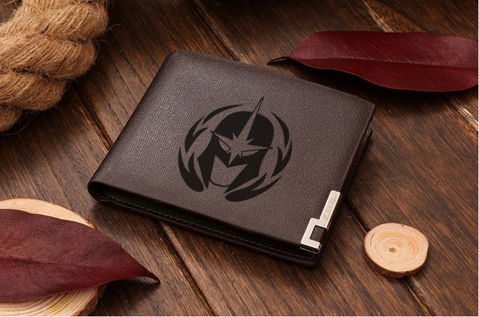 GUARDIANS OF THE GALAXY DENARIAN HELMET Leather Wallet