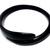 Handmade Natural black buffalo Horn Swirl Bangle Bracelet (small)