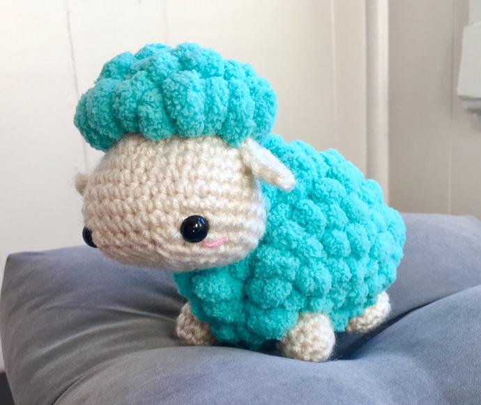 READY TO SHIP Sheep / Lamb Amigurumi Crochet Plush