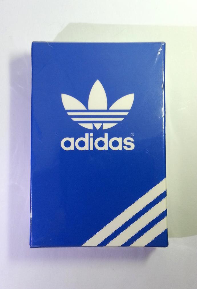 Adidas Originals Playing Cards Deck - Hong Kong Exclusive Item - Brand New