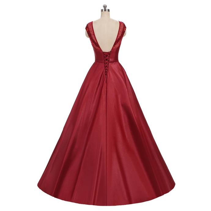 Sleeveless dress new design some Appliques party dress open-air party dress