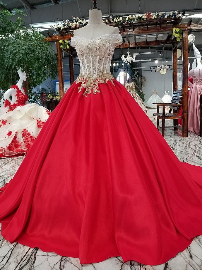 Korean version of the pregnant bride luxury slim tail wedding dress word show