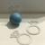 Platinum eos Diamond Ring Lip Balm Holders / Set of 8 - Bridal Shower Favor
