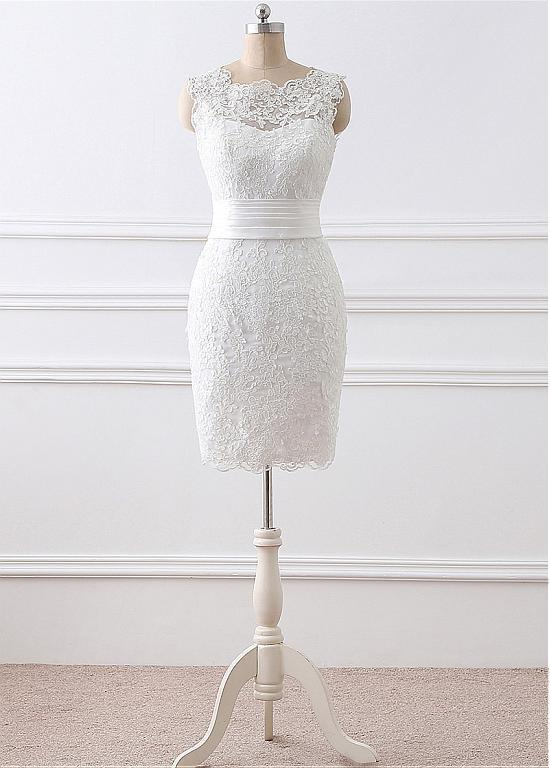 Real Made Lace Charming Wedding Dress,Long Wedding Dresses,Wedding