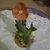 1960s Stefani (Japan) Hummingbird Bisque Porcelain Figurine