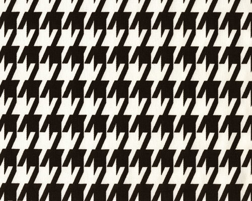 Houndstooth black and white. Fabric By Yard. Premier Prints. cotton. Home decor