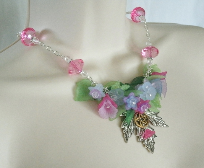 Summer Abundance Pentacle Necklace
