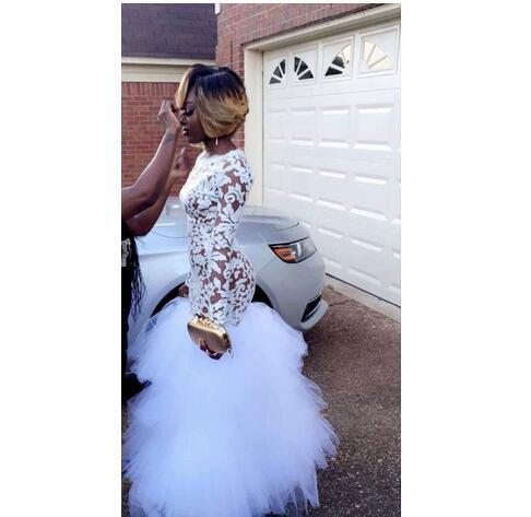 Plus Size Prom Dresses with Sleeves for Girls