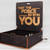 """May The Force Be With You - Engraved Wooden Music Box - """"Star Wars Theme""""- Jedi"""