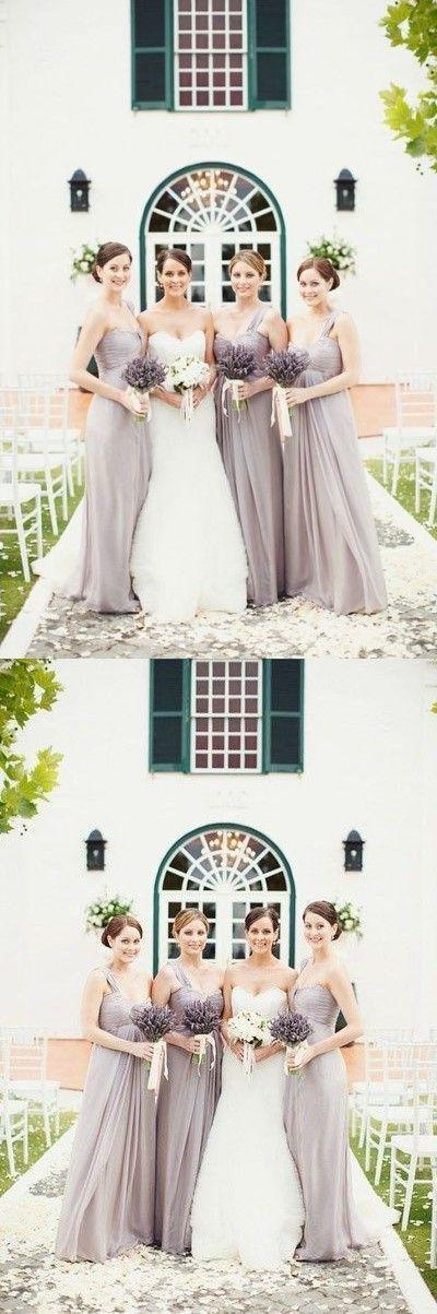 Chiffon Bridesmaid Dresses, Long by Miss Zhu Bridal on Zibbet