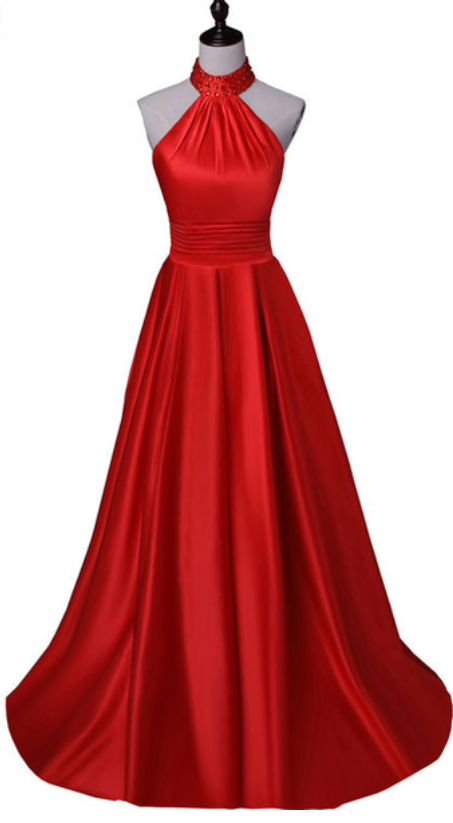 Red Formal Ball Gowns