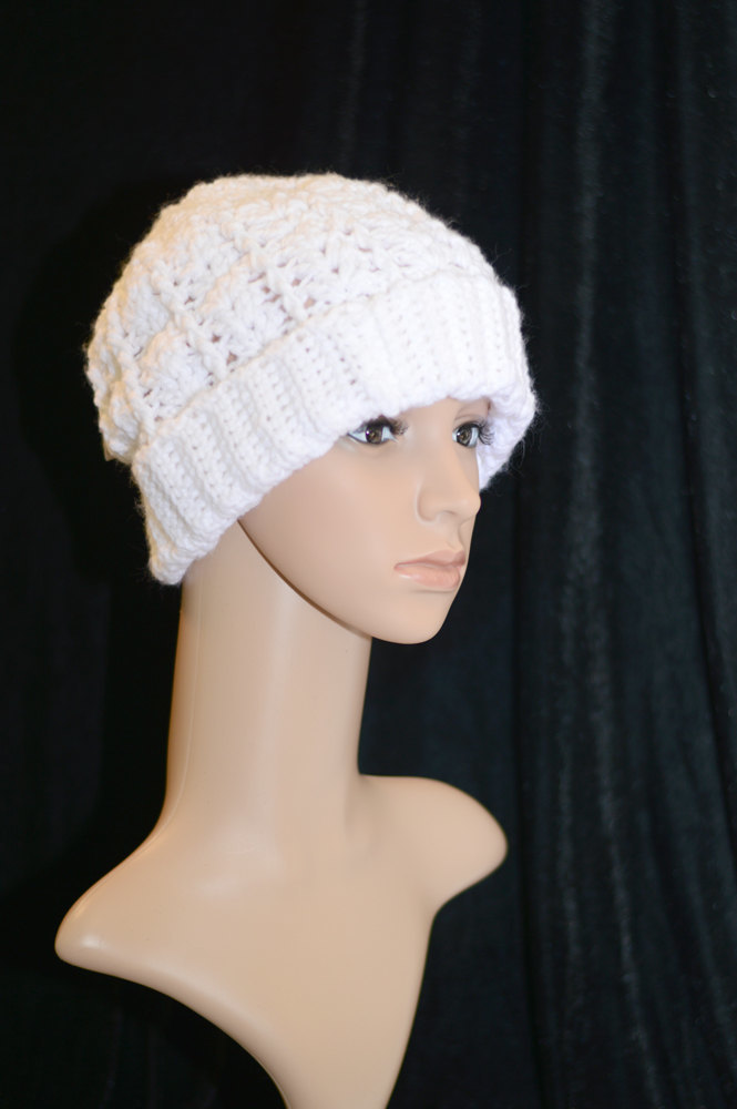 Classic Stocking Cap by Big River Crochet on Zibbet 569e38c5ef0