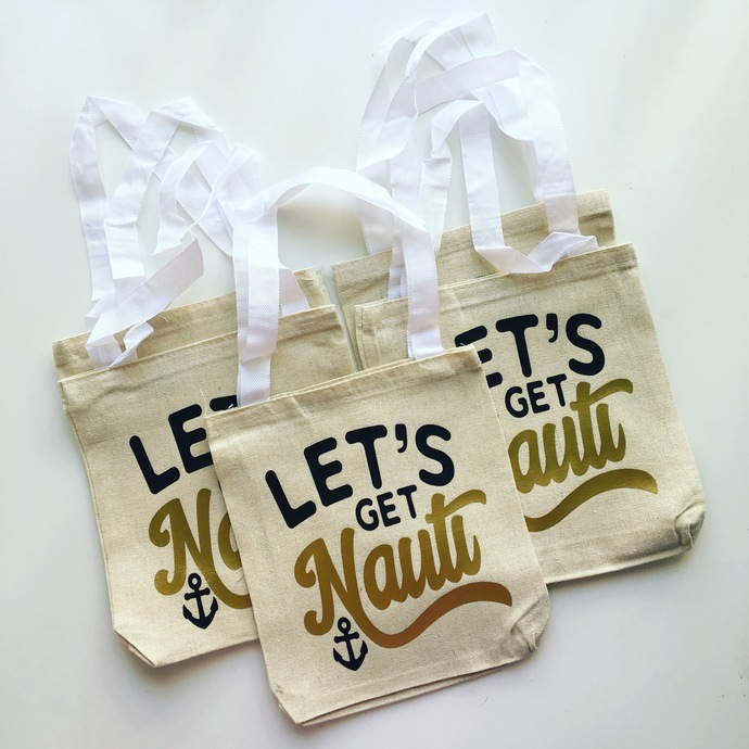 c36bc3d1a8d lets get nauti, cruise bags, anniversary party favors, beach totes,  personalized