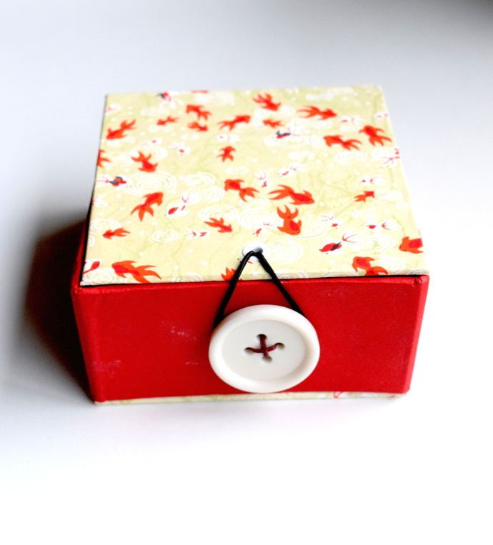 Koi Box, Treasure Box, Trinket Box