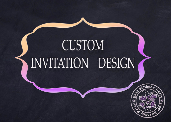 Custom Invitations Cards Party