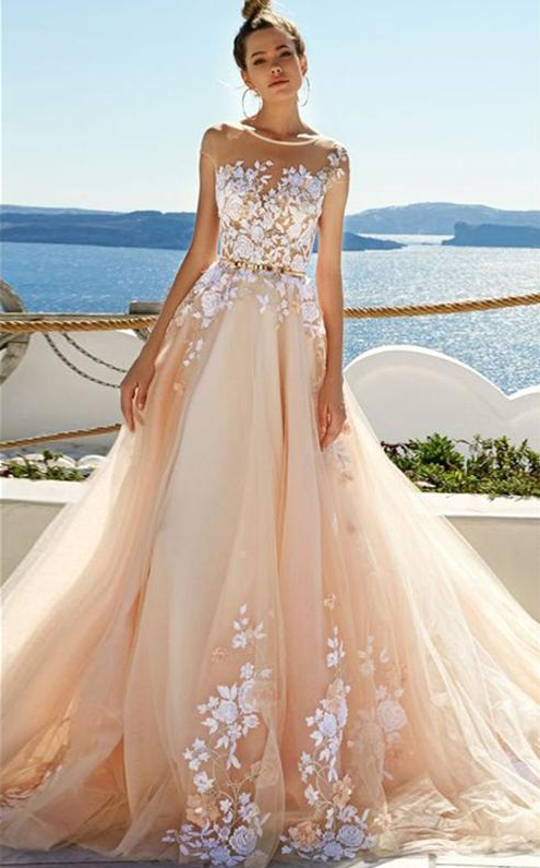 Chic Prom Dress, Bridal Dress, Wedding Dress, by prom dresses on